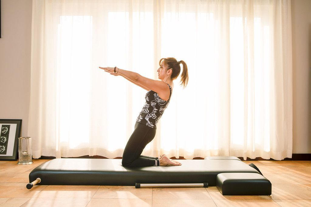 The Art of the Movement Called Contrology by Luz A. Lovenr a Classical Pilates Mat-work in Doha Qatar