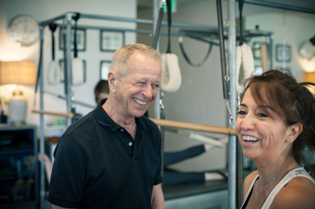 What a great time, learning from Mr. Jay Grimes at the Spring Camp at Vintage Pilates.