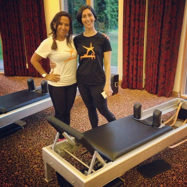 Amy Kellow and Luz A. Lovern in UK for Classical Pilates convention 2014