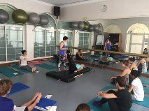Dear Pilates Lovers in Doha, Qatar, We just finalized an amazing Classical Pilates Workshop with Amy Kellow here in Doha. She bring the energies to keep moving and learning. The Classical Pilates Mat Work with Amy Kellow was at the Diplomatic Club Nov. 26 of 2015